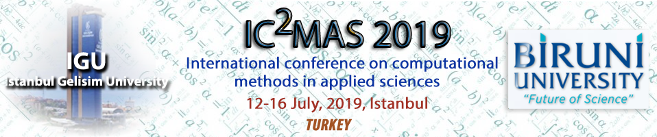INTERNATIONAL CONFERENCE ON COMPUTATIONAL METHODS IN APPLIED SCIENCES